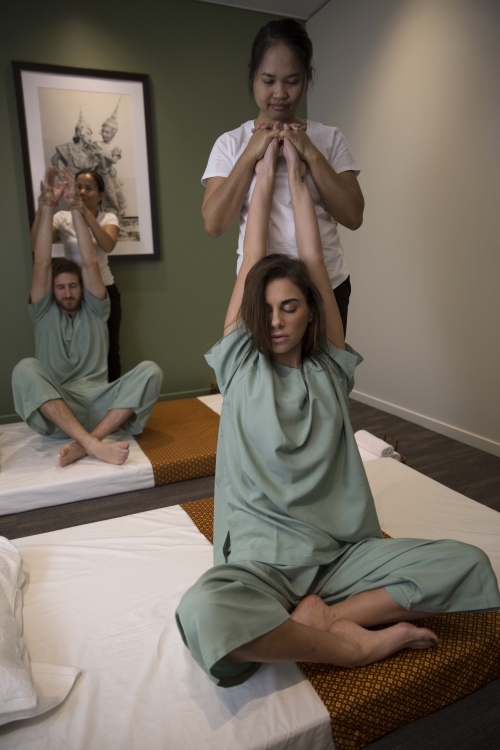Thai Touch - stories - What to expect - Traditional Thai Massage stretch